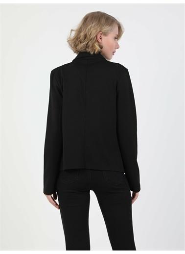 Colin's CL1047920_Q1.V1_BLK Slim Fit Siyah Kadın Ceket Siyah